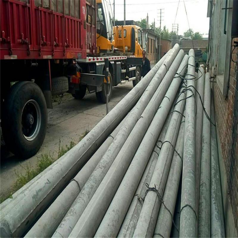 无拉线水泥电线杆安装要点和安装方法
